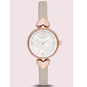 Kate Spade Hollis Leather Watch